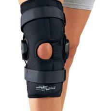 DONJOY Deluxe Hinged Knee knæskinne | knæsmerter | knæskade |