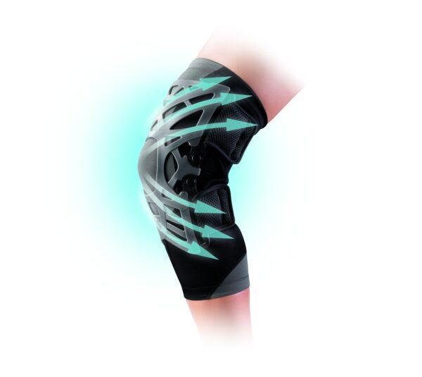 DONJOY Reaction Knee Brace forreste knæsmerter   slidgigt   springerknæ