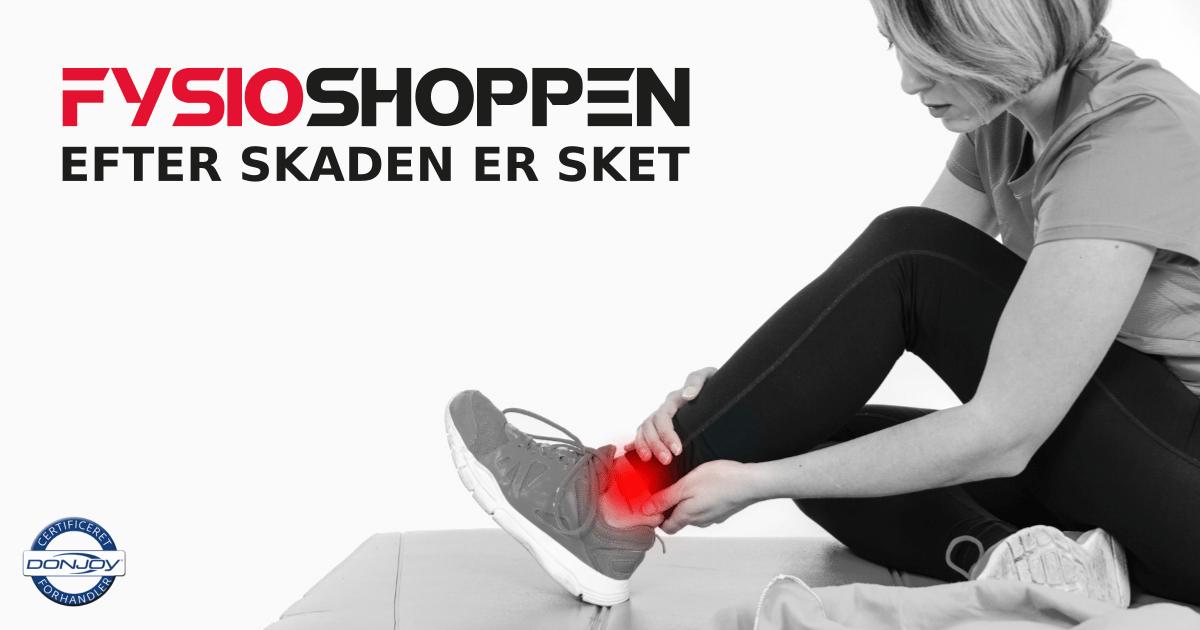 Efter skaden er sket | Få hjælp på Fysioshoppen - online fysioterapeut